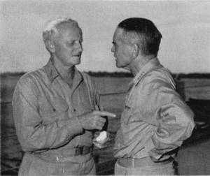 Nimitz and Halsey, 1943
